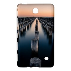Logs Nature Pattern Pillars Shadow Samsung Galaxy Tab 4 (7 ) Hardshell Case
