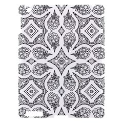 Mandala Line Art Black And White Apple Ipad 3/4 Hardshell Case