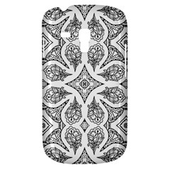 Mandala Line Art Black And White Galaxy S3 Mini