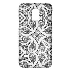 Mandala Line Art Black And White Galaxy S5 Mini