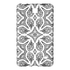 Mandala Line Art Black And White Samsung Galaxy Tab 4 (7 ) Hardshell Case