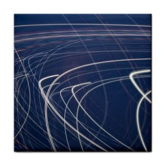 Light Movement Pattern Abstract Tile Coasters