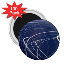 Light Movement Pattern Abstract 2 25  Magnets (100 Pack)