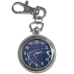 Light Movement Pattern Abstract Key Chain Watches