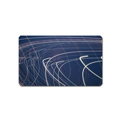 Light Movement Pattern Abstract Magnet (name Card)