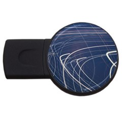 Light Movement Pattern Abstract Usb Flash Drive Round (2 Gb)