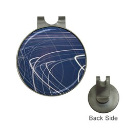 Light Movement Pattern Abstract Hat Clips With Golf Markers