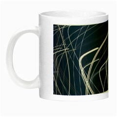 Light Movement Pattern Abstract Night Luminous Mugs