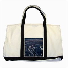 Light Movement Pattern Abstract Two Tone Tote Bag