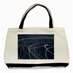 Light Movement Pattern Abstract Basic Tote Bag (two Sides)