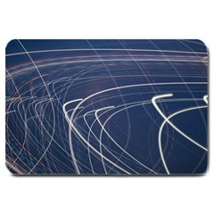 Light Movement Pattern Abstract Large Doormat