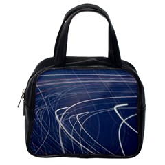 Light Movement Pattern Abstract Classic Handbags (one Side)