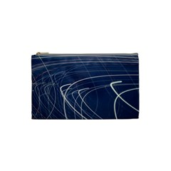 Light Movement Pattern Abstract Cosmetic Bag (Small)