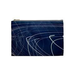 Light Movement Pattern Abstract Cosmetic Bag (Medium)