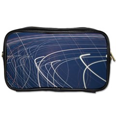 Light Movement Pattern Abstract Toiletries Bags 2 Side