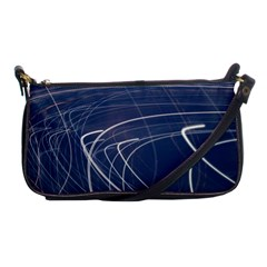 Light Movement Pattern Abstract Shoulder Clutch Bags