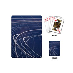 Light Movement Pattern Abstract Playing Cards (mini)