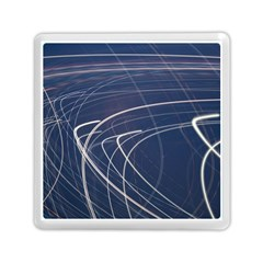 Light Movement Pattern Abstract Memory Card Reader (square)