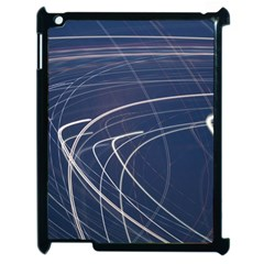 Light Movement Pattern Abstract Apple Ipad 2 Case (black)