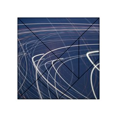 Light Movement Pattern Abstract Acrylic Tangram Puzzle (4  X 4 )