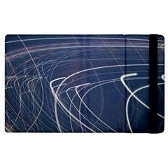 Light Movement Pattern Abstract Apple Ipad 3/4 Flip Case