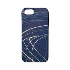Light Movement Pattern Abstract Apple Iphone 5 Classic Hardshell Case (pc+silicone)