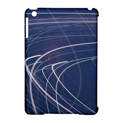 Light Movement Pattern Abstract Apple Ipad Mini Hardshell Case (compatible With Smart Cover)