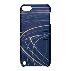 Light Movement Pattern Abstract Apple Ipod Touch 5 Hardshell Case With Stand