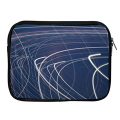 Light Movement Pattern Abstract Apple Ipad 2/3/4 Zipper Cases