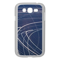 Light Movement Pattern Abstract Samsung Galaxy Grand Duos I9082 Case (white)