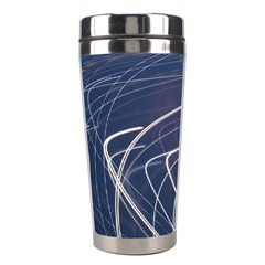 Light Movement Pattern Abstract Stainless Steel Travel Tumblers