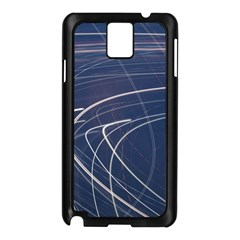 Light Movement Pattern Abstract Samsung Galaxy Note 3 N9005 Case (black)