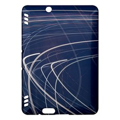 Light Movement Pattern Abstract Kindle Fire Hdx Hardshell Case
