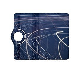 Light Movement Pattern Abstract Kindle Fire Hdx 8 9  Flip 360 Case