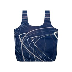 Light Movement Pattern Abstract Full Print Recycle Bags (s)