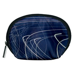Light Movement Pattern Abstract Accessory Pouches (medium)