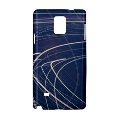 Light Movement Pattern Abstract Samsung Galaxy Note 4 Hardshell Case