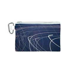Light Movement Pattern Abstract Canvas Cosmetic Bag (s)