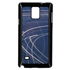 Light Movement Pattern Abstract Samsung Galaxy Note 4 Case (black)