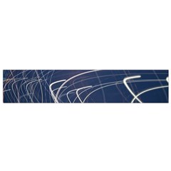 Light Movement Pattern Abstract Flano Scarf (small)