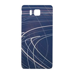 Light Movement Pattern Abstract Samsung Galaxy Alpha Hardshell Back Case