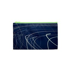 Light Movement Pattern Abstract Cosmetic Bag (XS)