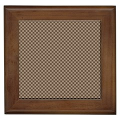 Pattern Background Diamonds Plaid Framed Tiles