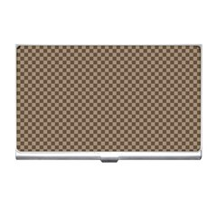 Pattern Background Diamonds Plaid Business Card Holders