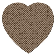 Pattern Background Diamonds Plaid Jigsaw Puzzle (heart)