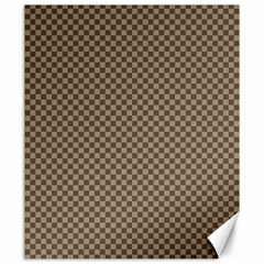 Pattern Background Diamonds Plaid Canvas 20  x 24