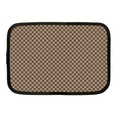 Pattern Background Diamonds Plaid Netbook Case (medium)