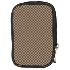 Pattern Background Diamonds Plaid Compact Camera Cases