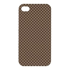 Pattern Background Diamonds Plaid Apple Iphone 4/4s Hardshell Case