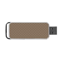 Pattern Background Diamonds Plaid Portable Usb Flash (one Side)